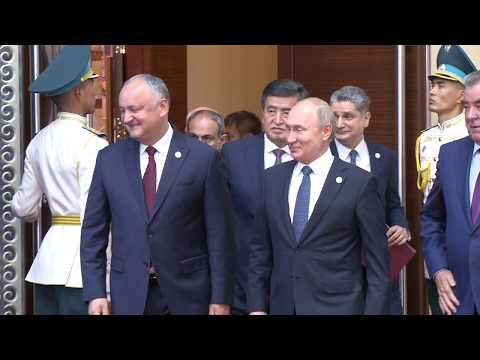 Președintele Igor Dodon a ținut un discurs în cadrul ședinței Consiliului Suprem al Uniunii Economice Eurasiatice