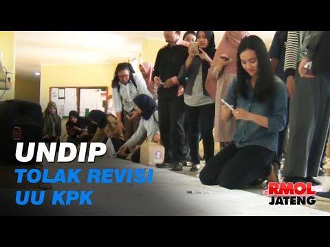 Undip Semarang Tolak Revisi UU KPK