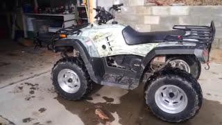 7. 2008 Wildfire WF300-Q quad camo ATV 4 wheeler