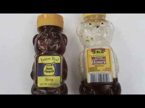 GMO Corn Syrup Cut Honey!