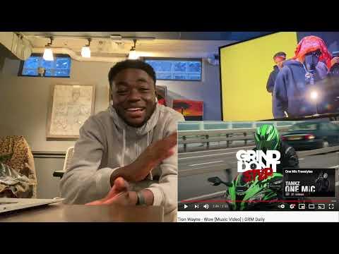 Tion Wayne - Wow [Music Video]   GRM Daily   REACTION
