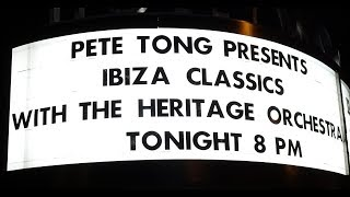 Pete Tong & The Heritage Orchestra - Ibiza Classics - live - Hollywood Bowl - Los Angeles CA