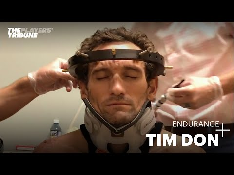 6 months after breaking his neck, Ironman Tim Don is ready to return