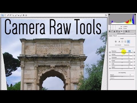 how to open camera raw in photoshop cc