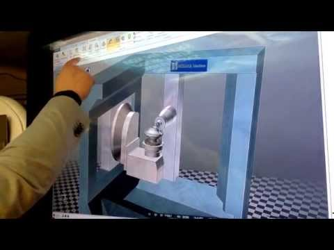 NCSIMUL Machine : Logiciel de simulation d'usinage | CNC simulation softwareExpérience utilisateur sur table tactile multipoint