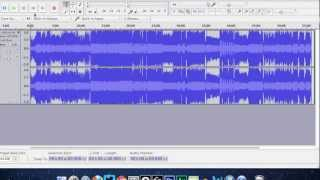 How to Create Different Tracks  and Create A Mix CD Using Audacity & Itunes