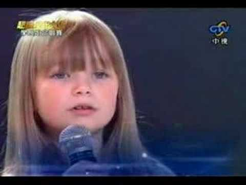 Connie Talbot - I will always love you LIVE *High Quality*:  Connie talbot in a Tawian Variety show call Millionstars and sing