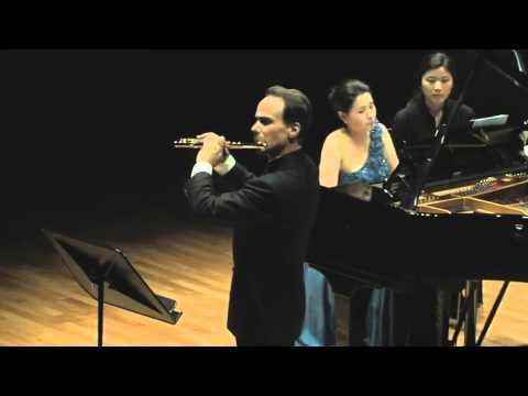 J. Mouquet: La flute de Pan. II. Pan et les oiseaux (Mathieu Dufour, flute) (видео)