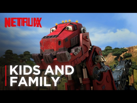 Watch Dinotrux Trailer A New Netflix Kids Series From DreamWorks