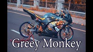 Video ninja 250 jari jari greey monkey MP3, 3GP, MP4, WEBM, AVI, FLV Maret 2019
