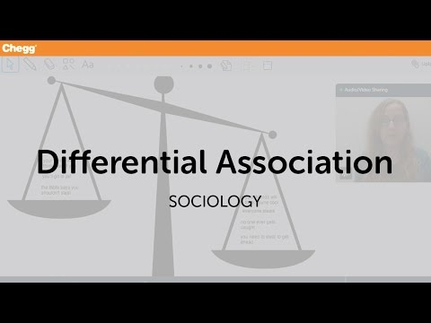 differential association theory sociology