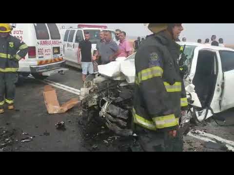 הרוג ופצוע קשה בתאונה בכביש 784