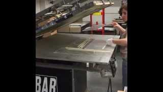 Learn the difference between screen printing and heat transfer printing! Read our article for more details about the process - http://www.displays2go.com/Art...