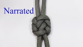 Knot tying video tutorial. Learn how to tie a pseudo plafond knot. Step by step instructions in this simple DIY guide. As far as I know this knot is a WhyKnot original. This knot has the flat square appearance of the plafond knot, but is considerably easier to tie*********************************************************************I would love to see your knotted creations. Feel free to join and post up at the WhyKnot facebook group. https://www.facebook.com/groups/798406973670243