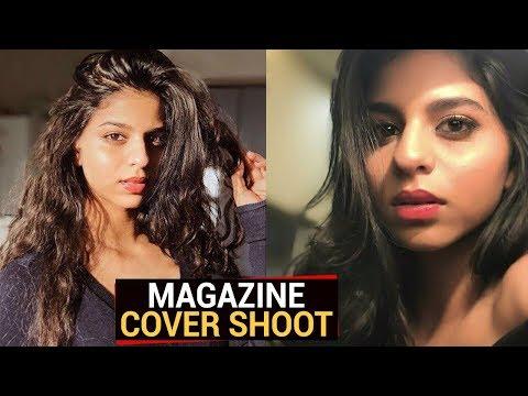 Shahrukh Khan Daughter Suhana Khan FIRST Magazine