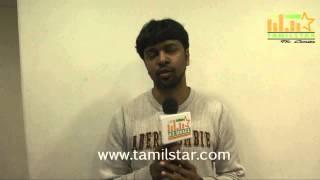 Madhan Karky at Kappal Movie Press Meet
