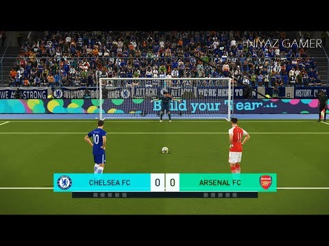 CHELSEA FC vs ARSENAL | Penalty Shootout | PES 2018 Gameplay PC
