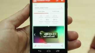 Countdown Days - App & Widget YouTube video