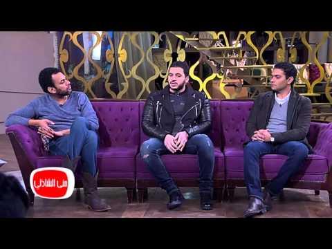 """لقاء آسر ياسين وكريم السبكي ومحمد أمين راضي  في """"معكم"""""""