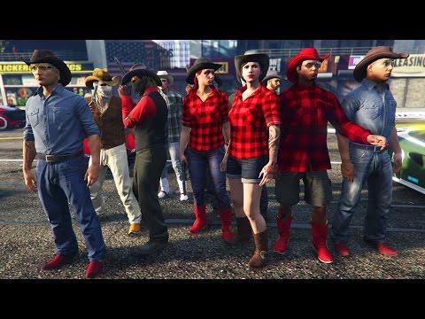 GTA 5 COWBOYS! (GTA 5 Online)