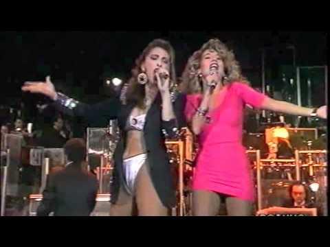 Sabrina Salerno & Jo Squillo   Siamo donne   Sanremo 1991