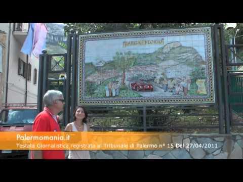 Speciale reportage Targa Florio - Inaugurazione del mosaico celebrativo della 39^Targa Florio
