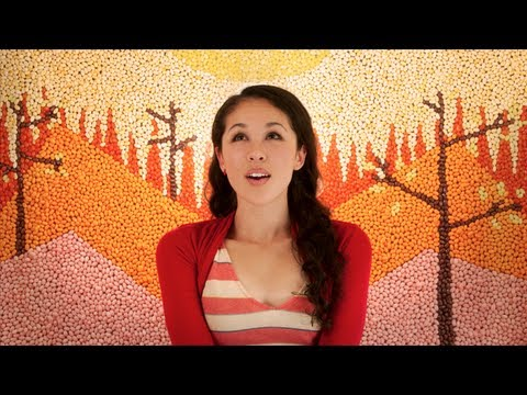 In Your Arms – Kina Grannis (Official Music Video) Stop Motion Animation