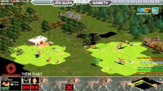 Liên Quân vs GameTV C1T1, ngày 30/08/2015, game đế chế, clip aoe, chim sẻ đi nắng, aoe 2015