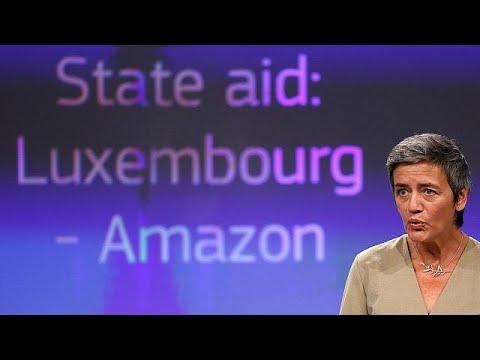 Η ΕΕ ζητά από την Amazon να επιστρέψει φόρους 250 εκατ. ευρώ