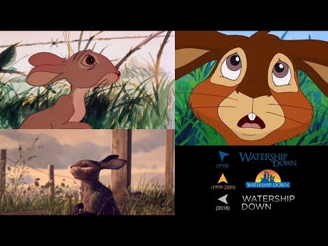 Watership Down (2018/1978/1999-2001): side-by-side comparison