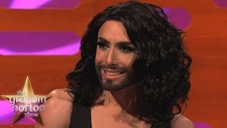 Conchita Wurst Talks About Her Beard - The Graham Norton Show