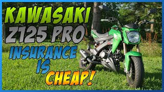 4. VLOG_#03: 2018 US Kawasaki Z125 PRO SE Colors, Insurance Costs & Bike theft in Houston TX!