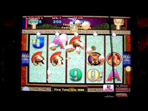 Pompeii Slot Bonus Win