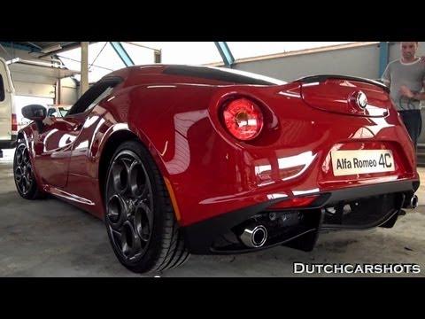 Alfa Romeo 4C – Revving LOUD – Lovely Sounds – 1080p HD