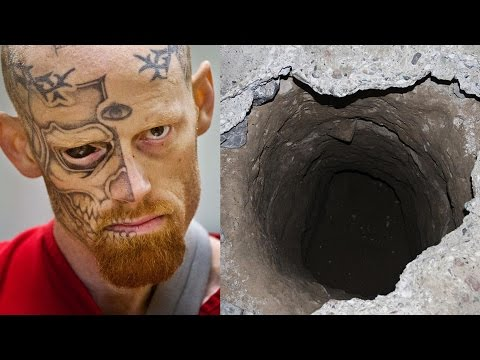 evasioni riprese da telecamere - el chapo e il tunnel sotto la sua cella
