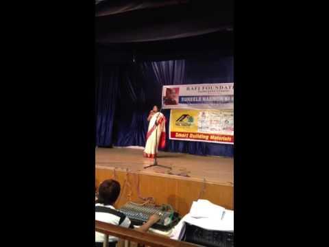Video Chanda hai tu  in Rafi Foundation by Savitha Reddy download in MP3, 3GP, MP4, WEBM, AVI, FLV January 2017