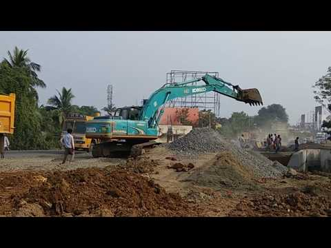 Video JCB Excavator (Real) working on road construction site | Children Video Construction Vehicles download in MP3, 3GP, MP4, WEBM, AVI, FLV January 2017