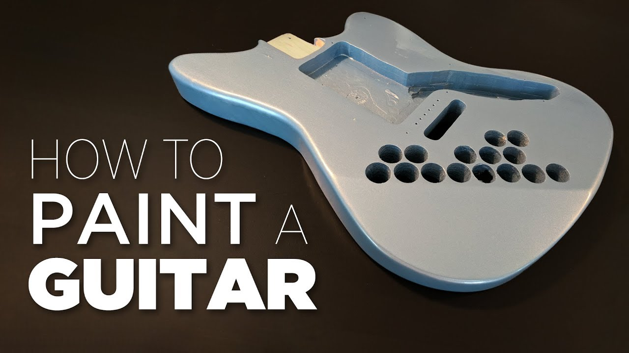 How To Spray Paint A Guitar – Start to Finish