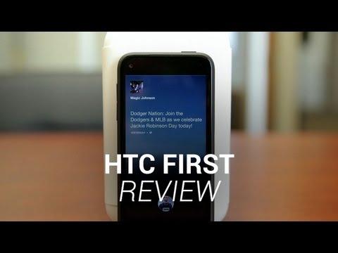 HTC First 實機測試影片
