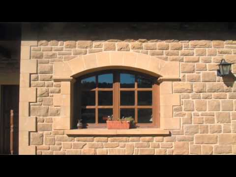 Fachadas de casas team 39 s idea - Casas de piedra natural ...