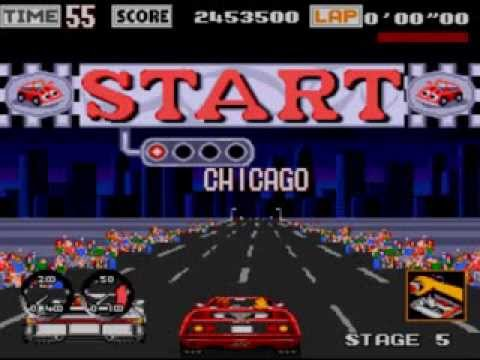 outrun mega drive youtube