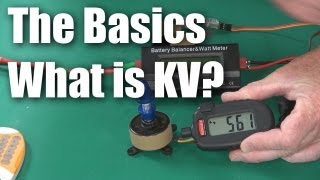 When using electric motors to power RC model aircraft you'll often hear the term KV - so what is it? In this video, I explain what KV...