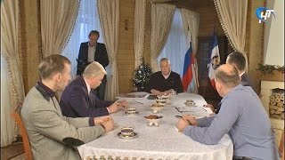27 декабря в 21:00 на НТ смотрите интервью Сергея Митина новгородским журналистам