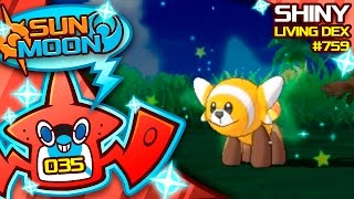 ALMOST 1000 ENCOUNTERS!! SHINY STUFFUL!! Quest For Shiny Living Dex #759 | Sun Moon Shiny #35 by aDrive