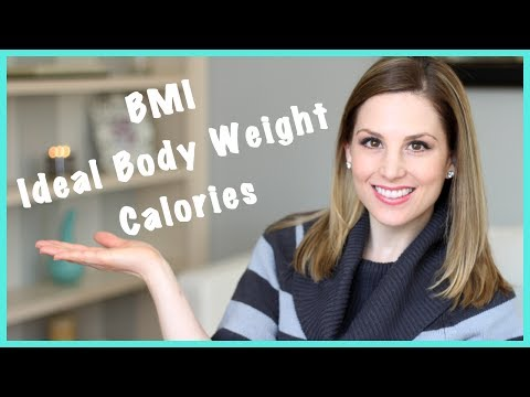 Get Fit With Kristen: BMI & IBW & CALORIES!