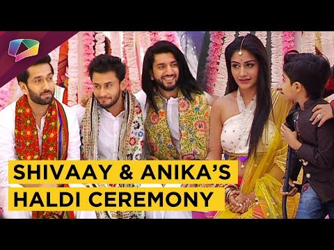 Shivaay And Anika's Haldi Ceremony | New Entry |