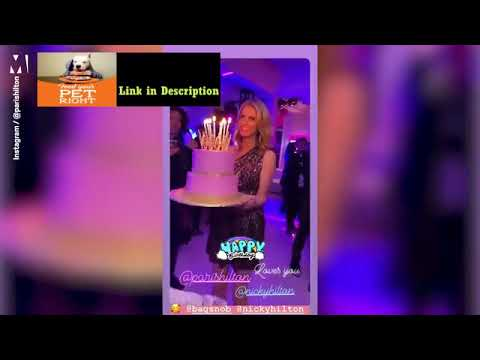 Video Paris Hilton shows she's still a party queen at 39th b-day