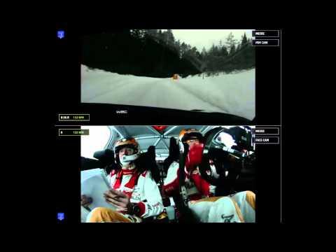 Rally Sweden 2015: Onboard SS4 Kris Meeke