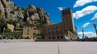 Santa Maria de Montserrat is a Benedictine abbey founded in the 10th century and located on the mountain of Montserrat about ...