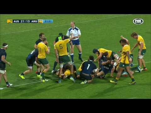 Australia 36 v 20 Argentina